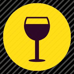 alcohol, beverage, drink, glass, vodka, water, wine icon