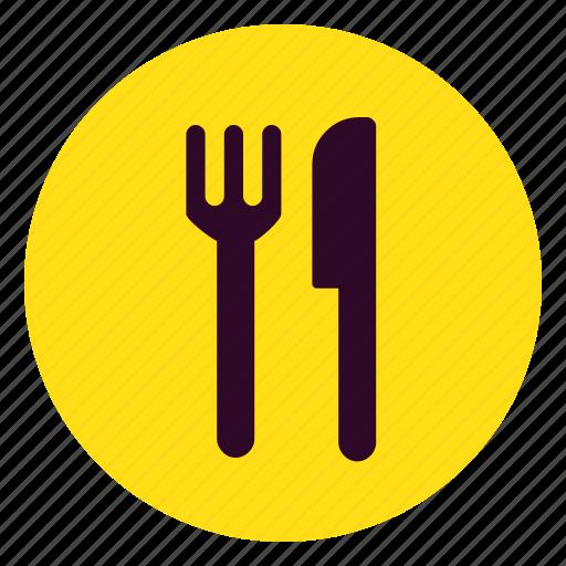 appliance, dinner, fork, kitchen, meal, restaurant, spoon icon