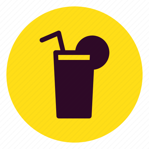 beverage, cocktail, cup, drink, glass, juice, soft icon