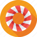 candy, confectionery, sweet, swirl, toffee icon