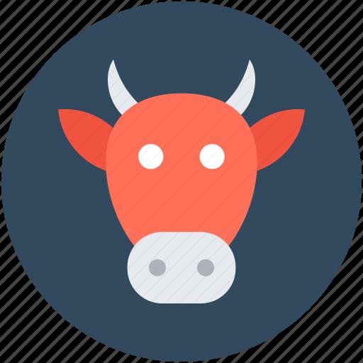animal, buffalo, cow, dairy animal, mammal icon