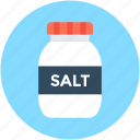 cooking ingredient, salt, salt bottle, salt cellar, salt container
