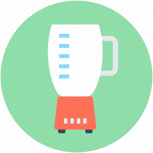 blender, food processor, juice extractor, juicer, squeezer machine icon