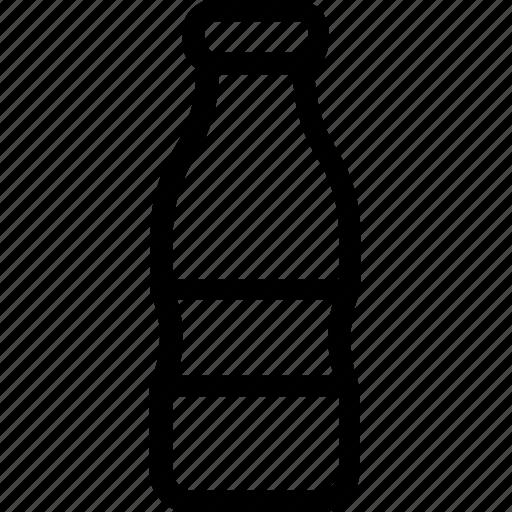 bottle, food, liquor, milk bottle, water bottle icon