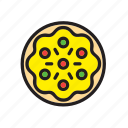 fast, food, italian, italy, meal, pizza icon