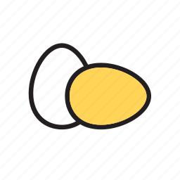 egg, eggs, food, groceries icon