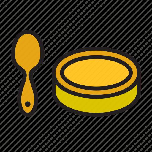 food, fruit, honey, meal, spoon, teaspoon, vegetable icon