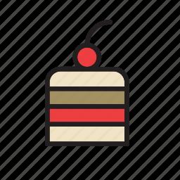 cake, cake shop, dessert, food, patisserie, pie, slice icon