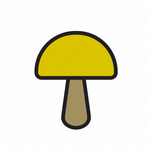 food, mushroom, vegetable icon