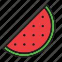food, fruit, watermelon