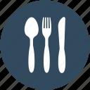 cutlery, fork, knife, spoon, utensils