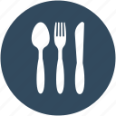 fork, utensils, spoon, cutlery, knife icon