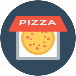 food, italian food, pizza, pizza box, pizza delivery icon