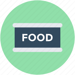 canned food, canning, food, food tin, preserved food icon