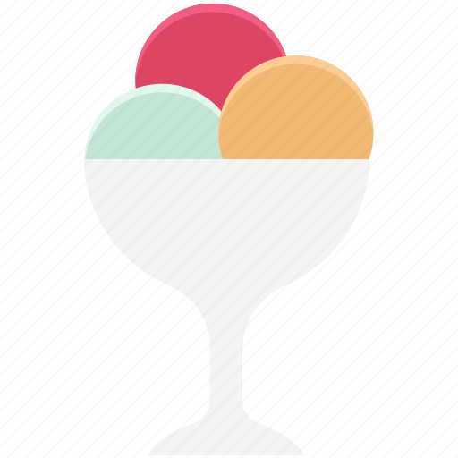 dessert, food, icecream, icecream cup, refreshment, sweet food icon
