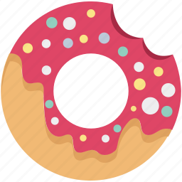 bakery, bakery food, breakfast, confectionery, dessert, donut, oughnut icon