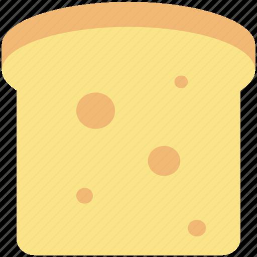 bakery food, bread, bread slice, breakfast, diet, staple food, wheat icon