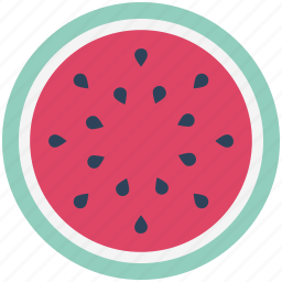 cantaloupe, food, fruit, fruit slice, juicy fruit, nutrition, watermelon icon