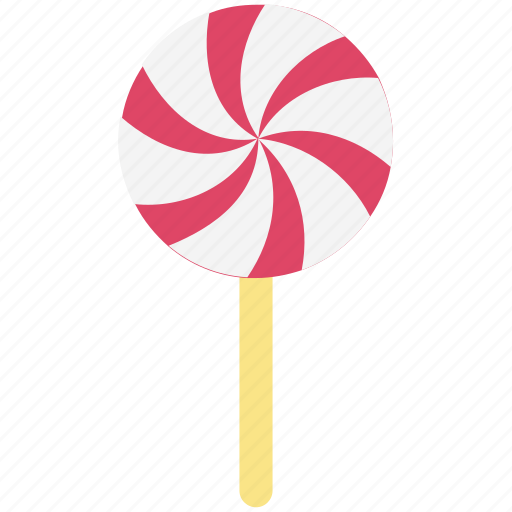 candy, confectionery, lollipop, lolly, lolly stick, sweet snack icon