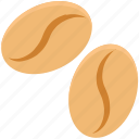 beans, cappuccino, coffee, coffee beans, coffee grains, coffee seeds, jelly beans icon