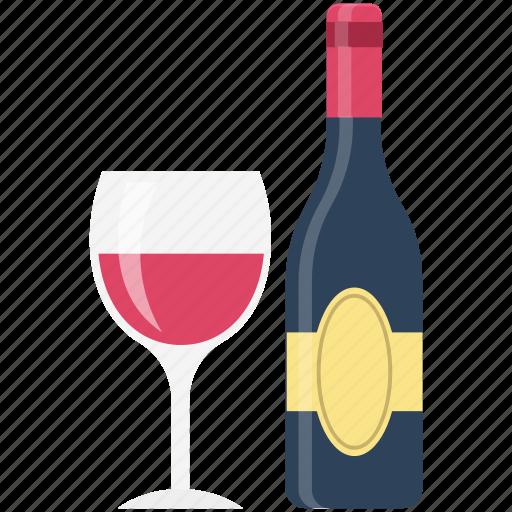 Alcohol, beer bottle, bottle, champagne, drink, glass, wine icon - Download on Iconfinder
