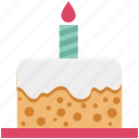 bakery food, birthday cake, cake, delicious cake, dessert, party cake, sweet icon
