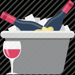 alcohol, alcoholic beverage, alcoholic drink, beverage, drink, glasses, wine icon