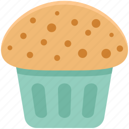 baked food, bakery food, cupcake, dessert, fairy cake, muffin, sweet food icon
