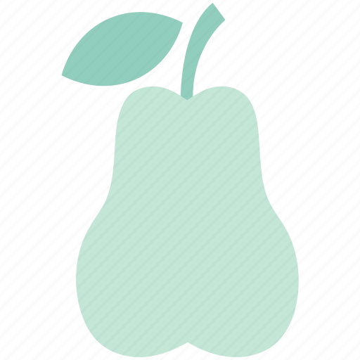 diet, food, fruit, healthy food, organic, pear, pome icon