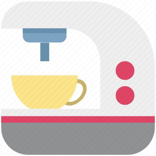 coffee brewer, coffee machine, coffee maker, coffee percolator, espresso machine icon