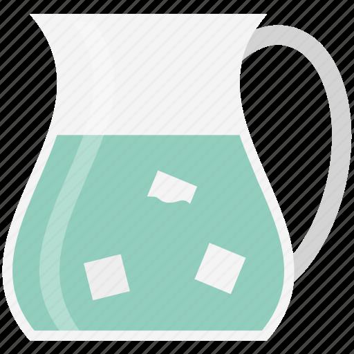 ewer, jug, kitchen utensil, liquid container, pot, vessel, water jug icon