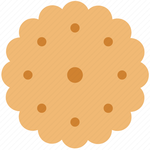 bakery food, biscuit, breakfast, cookie, food, refreshment, snack icon
