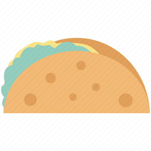 food, mexican dish, quesadilla, snack, taco, tacos, tortilla tacos icon