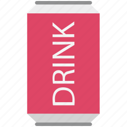 cola, cola tin, drink, soft drink, tin pack icon