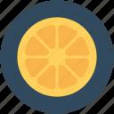 citrus fruit, food, fruit, lemon slice, orange slice