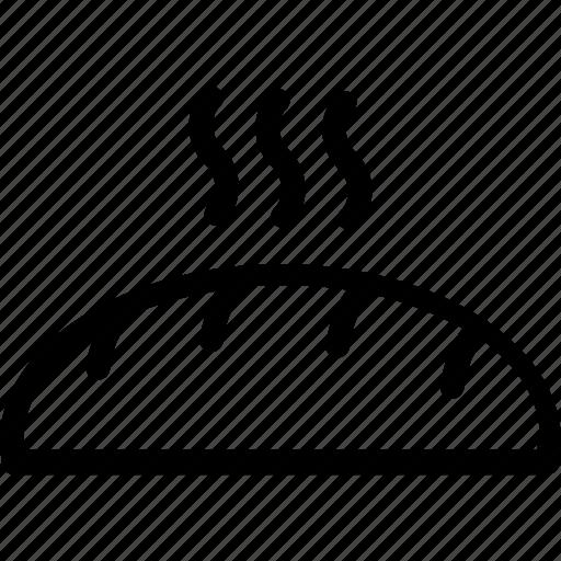 baguette, bread, breakfast, food, french bread icon