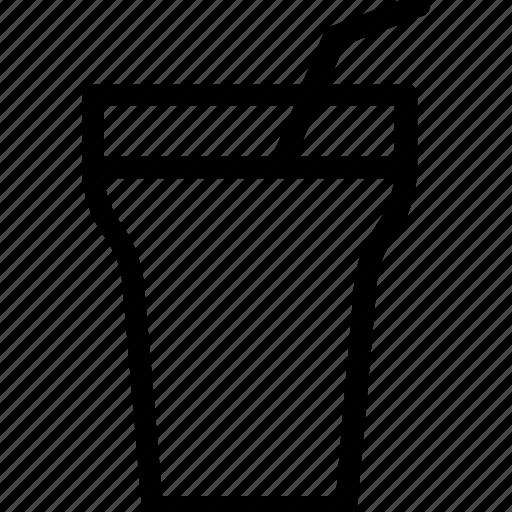 beverage, cold drink, drink, glass, soft drink icon