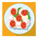 dish, sandwich icon