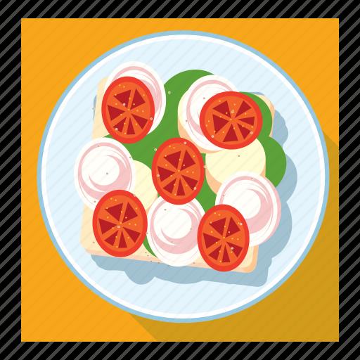 dish, sandwich icon