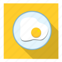 half boiled egg icon