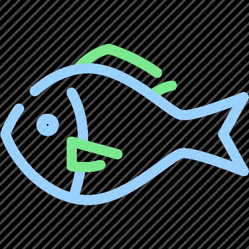 fish, fishing, food, sea, seafood icon