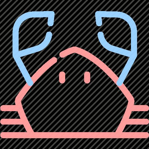animal, crab, food, sea, seafood icon