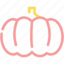 food, halloween, pumpkin, vegetable icon
