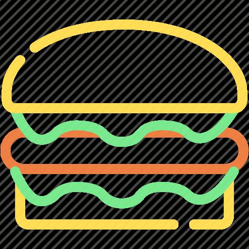 burger, fest food, food, hamburger, junk food icon