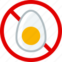 allergen, allergy, cooking, egg, food, gastronomy, yumminky icon