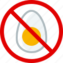 allergy, food, cooking, gastronomy, allergen, egg icon