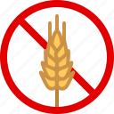 allergen, allergy, food, gastronomy, gluten, wheat, yumminky icon