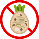allergen, allergy, celery, food, gastronomy, vegetable, yumminky icon