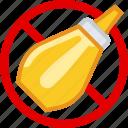 allergen, allergy, flavoring, food, gastronomy, mustard, yumminky icon