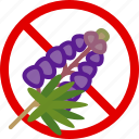 allergen, allergy, food, gastronomy, herb, lupine, yumminky icon